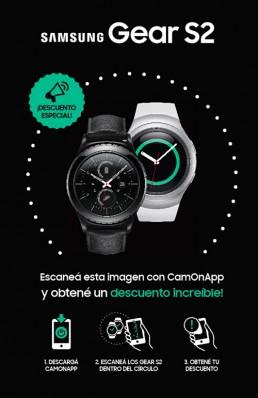 CamOnApp - Realidad Aumentada (Samsung Gear G2)