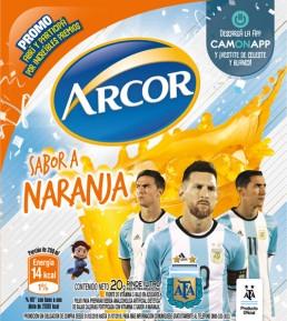 CamOnApp - Augmented Reality (Arcor World Cup)
