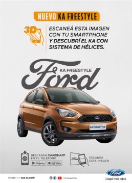 CamOnApp - Augmented Reality (Ford)