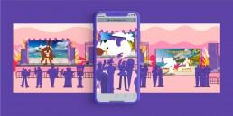 augmented reality web vr nickelodeon viacom