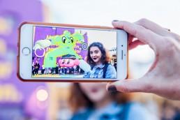 augmented reality art realidad aumentada centro cultural recoleta